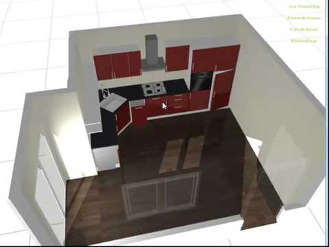 Conception cuisine 3d gratuit for Conception cuisine 3d facile