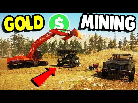 MINING FOR GOLD & MAKING $MILLIONS$ | Gold Rush: The Game Gameplay