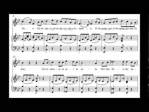 Vincenzo Bellini - Two Ariettas for Voice and Piano