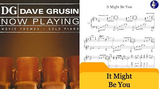 Dave Grusin Piano Cover - It Might Be You