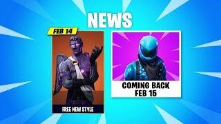 Dark Love Ranger Style, HONOR Skin Return! and Update Review - Fortnite News
