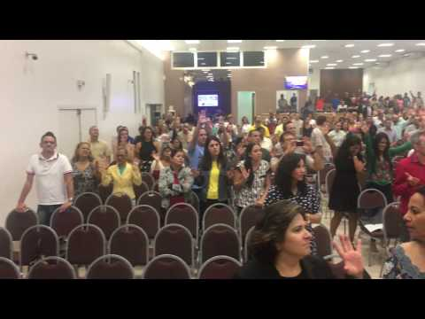 Made A Way in a Baptist Church in Brasilia