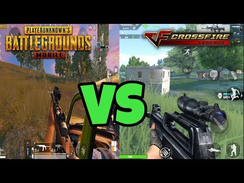 🔴CrossFire Legends Vs PUBG MOBILE + HD GRAPHICS DOWNLOAD LINK