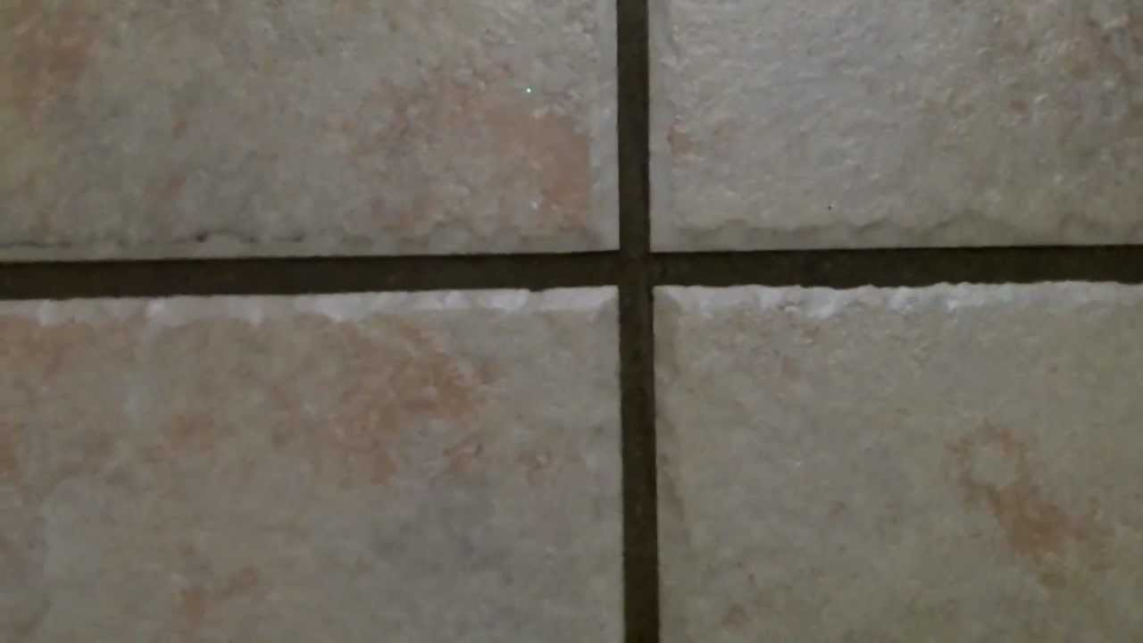 Bathroom Grout cleaning tip: how to clean tile grout - easy, best way - no harsh