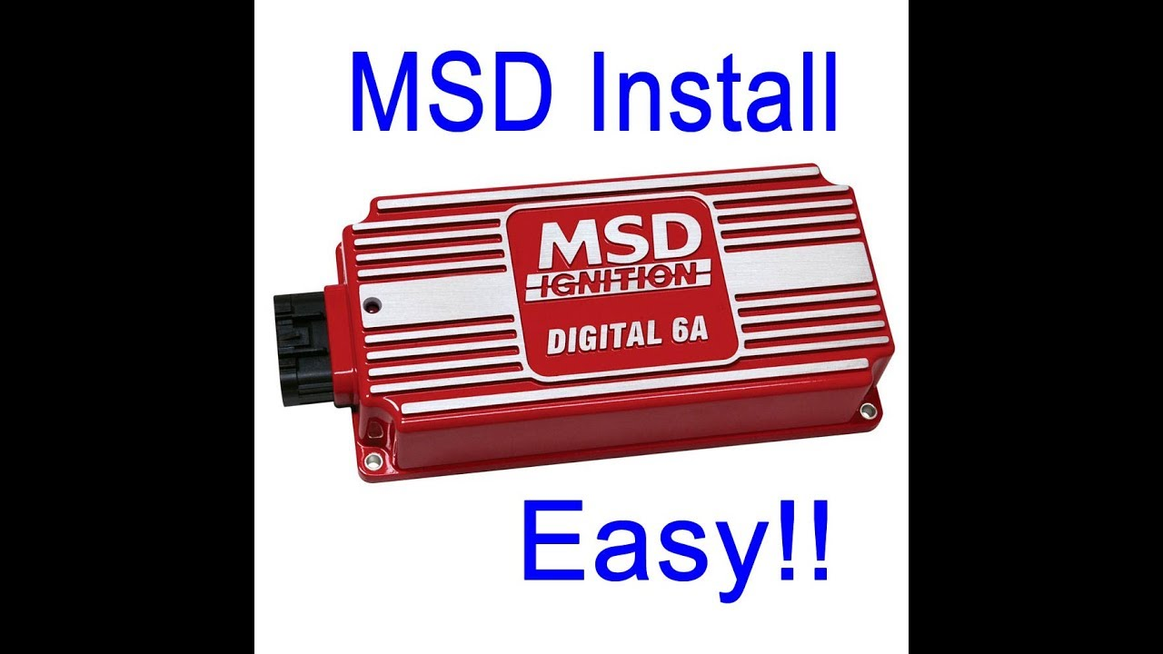 how to install a msd 6a on my 1993 chevy z28 and wiring harness iamacreator [ 1280 x 720 Pixel ]