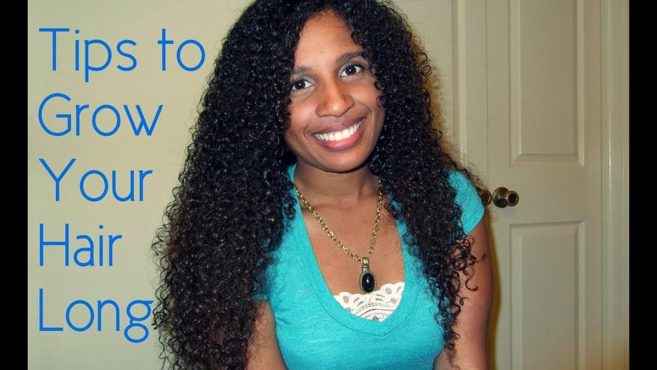 long curly hair care tips advice