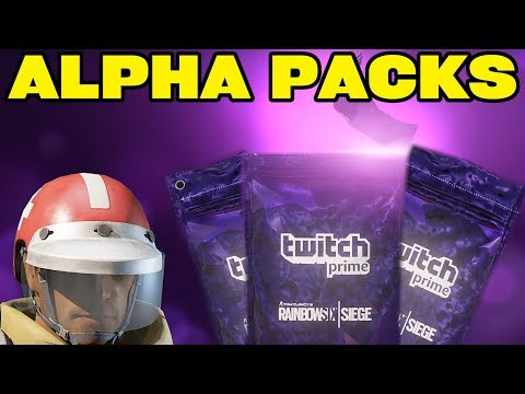 Grim Sky Legendary Alpha Packs!  - Rainbow Six Siege