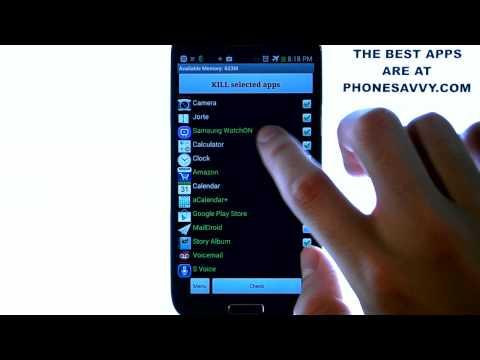Advanced Task Killer - App Review - Better Phone Performance