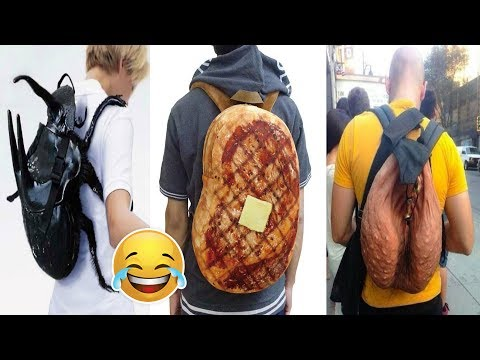 Most Unusual & Creative Backpack Designs