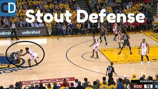 Rockets vs Warriors Game 4: 12 Point 4th Quarter For GSW
