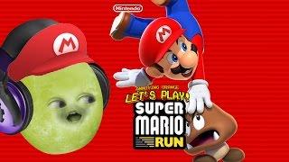Gaming Grape Plays - Super Mario Run #1