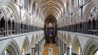 Amazing views of Salisbury Cathedral from the triforium level