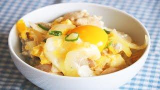 日式著名親子丼的家庭做法【美食天堂 CiCi