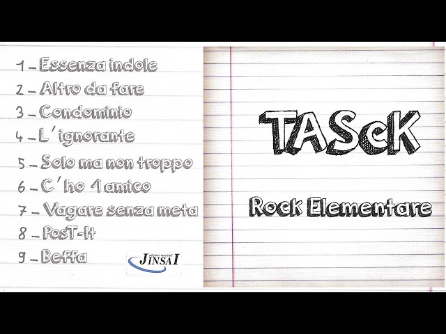 Tasck - Rock Elementare [Full Album]