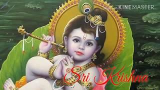 """Sri krishna..... """"hare krishna hare krishna, hare, rama rama, hare"""""""