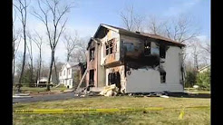Fire rips through house in Pocono Summit, Pa.