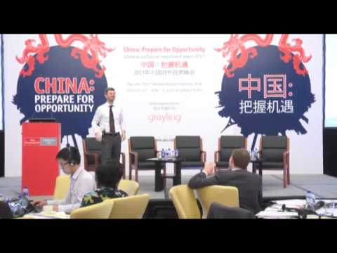 The rise of China, presented by Robert Ward, at The EIU conference in Beijing 2013