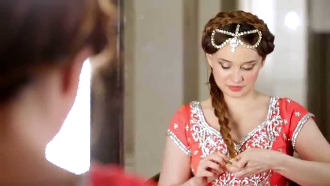 Gilded Braided Hairstyle II Engagement Party Hairstyle YouTube - Hairstyle for engagement girl