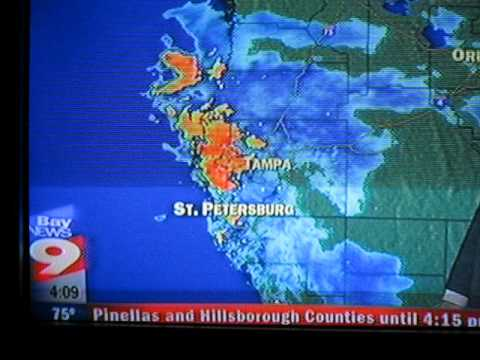 Tampa Bay Weather Radar Youtube