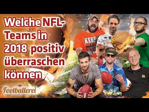 Welche NFL-Teams in 2018 positiv überraschen können   Footballerei SHOW