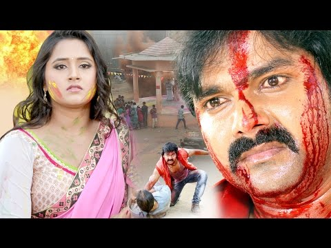 Pawan Singh - Kajal Raghwani - Hukumat - Bhojpuri Superhit Full Movie 2017