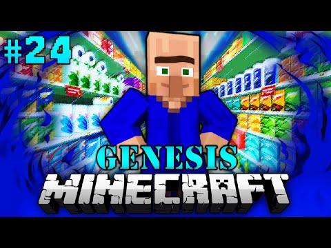 ULRICH's großer SUPERMARKT - Minecraft Genesis #024 [Deutsch/HD]