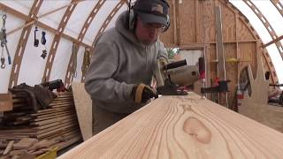Wood boat frames and keel bolts.  SDP ep. 25
