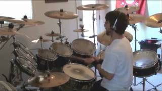 Dragonforce - Revolution Deathsquad (Drum Cover) by Adam Robinson