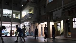 晚上籃球賽在聖公會諸聖中學 Basketball game