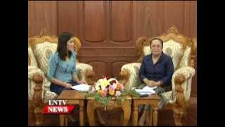 Lao NEWS on LNTV: The Lao and Chinese governments are currently negotiating.4/9/2014