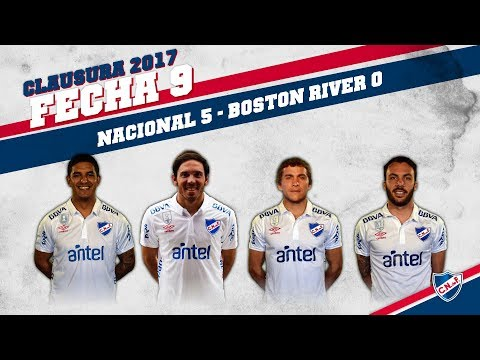 Clausura 2017 Fecha 9 / Nacional 5 - Boston River 0