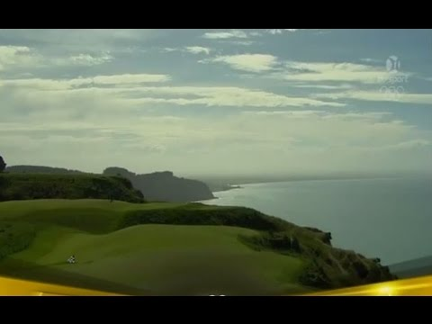 Cape Kidnappers Golf Course (Sean O'Hair, Anthony Kim, Hunter Mahan, Camilo Villegas)