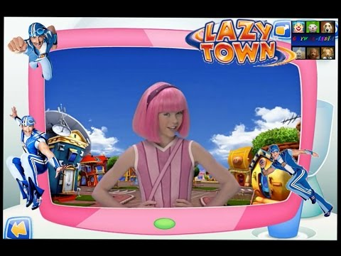 Lazy Town | Sportacus Hero Training | Stephanie