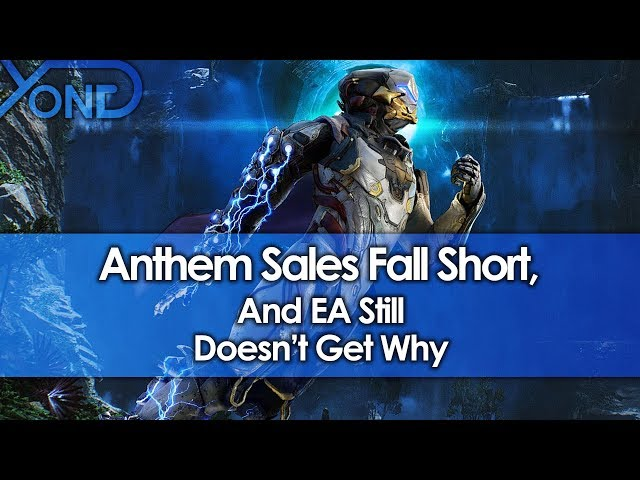 Anthem Sales Fall Short, And EA Still Doesnt Get Why