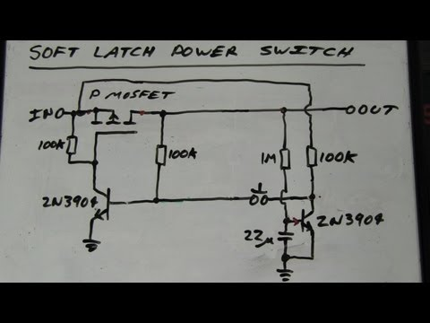 EEVblog #262 - World's Simplest Soft Latching Power Switch Circuit