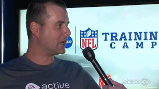 EA Sports Active NFL Training Camp Interview: Justin Sheffield