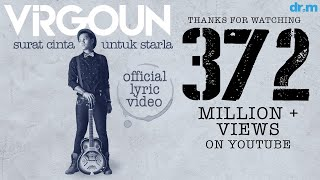 Video Virgoun - Surat Cinta Untuk Starla (Official Lyric Video) download MP3, 3GP, MP4, WEBM, AVI, FLV April 2018