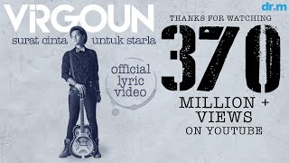 virgoun surat cinta untuk starla official lyric video