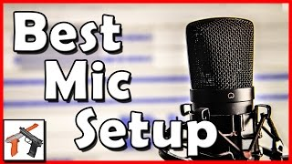 How To Improve Microphone Recording Audio Quality: AT2020USB Mic, Rode PSA1 Boom, AT8458 Shock Mount