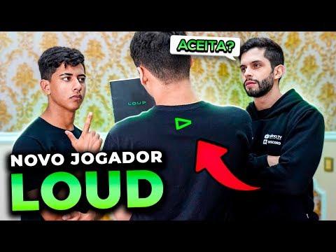 CONTRATADO!! O NOVO PRO PLAYER DE FREE FIRE DA LOUD!!