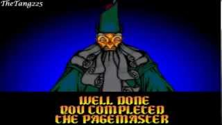 the pagemaster snes all library cards good ending for pbg