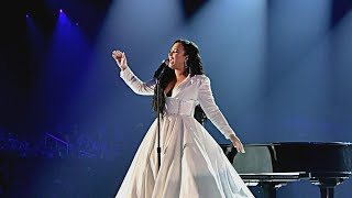 Demi Lovato CRIES While Performing New Song 'Anyone' | GRAMMYS 2020