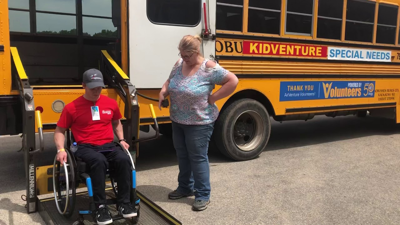 Getting on a Bus in a Wheelchair