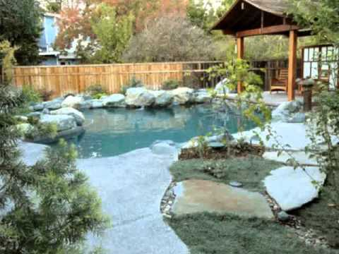 Natural Pool Designs - YouTube