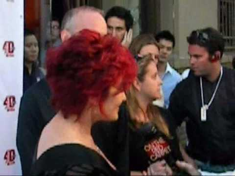 Sharon Osbourne Walks and Take Photos to LA PRIDE ...