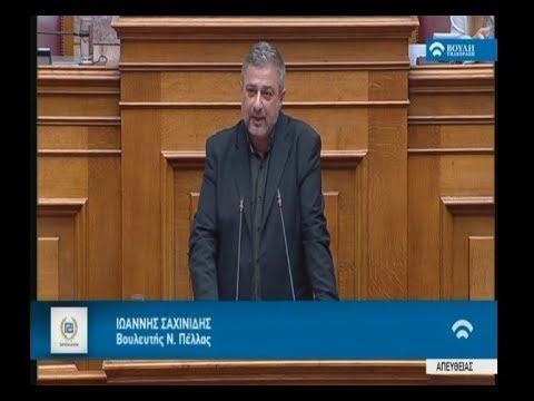 Γ. Σαχινίδης: ΣΥΡΙΖΑ-ΑΝΕΛ άξιοι συνεχιστές της ανθελληνικής μνημονιακής πολιτικής