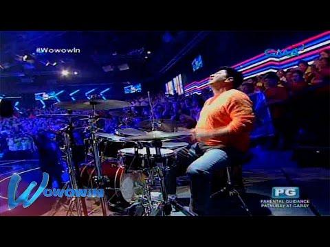 Wowowin: Willie Revillame, ipinamalas ang kanyang drumming skill