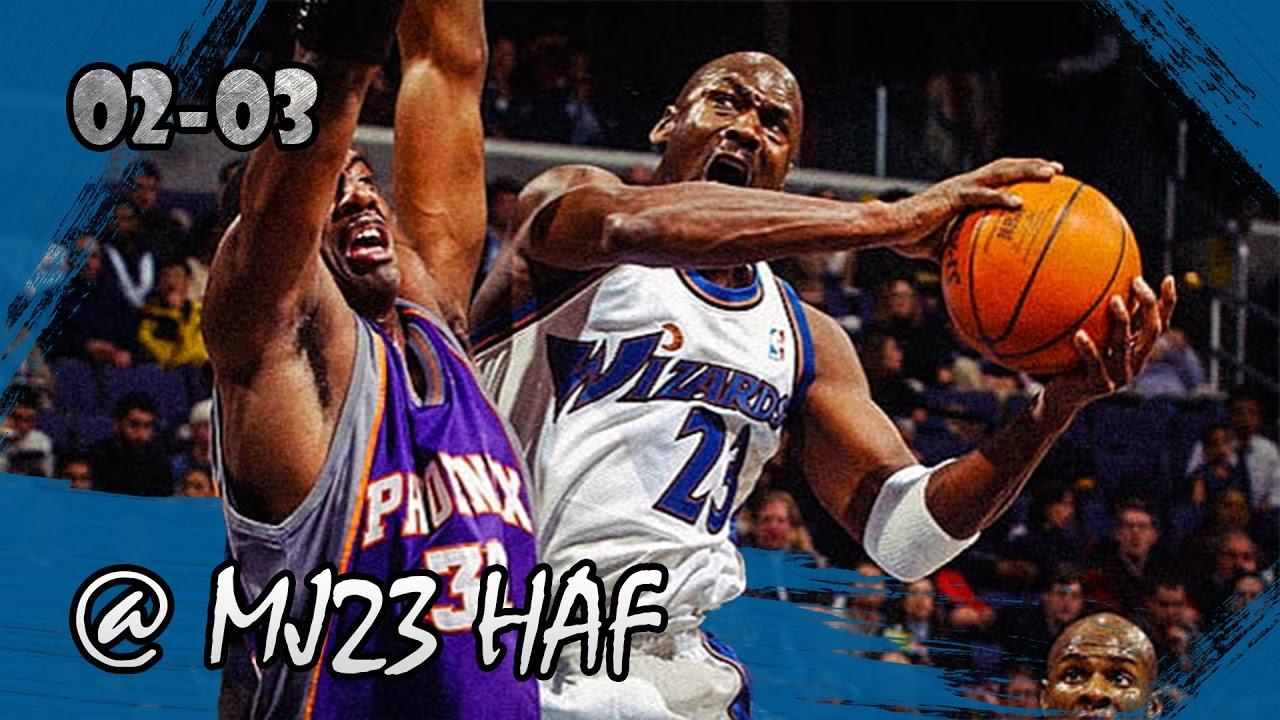 eb017f9a4afb Michael Jordan Highlights vs Suns (2003.01.27) - 19pts
