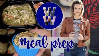 WW Meal Prep | Chocolate Chip Oatmeal Muffins, Mexican Egg White Muffins, Green Chicken Curry