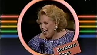 Barbara Cook and Mandy Patinkin in Boston, 1989 TV